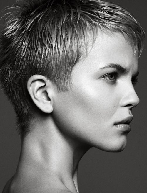 "Pixie Perfect - wouldn't do the sharp edge ""side burns""..."