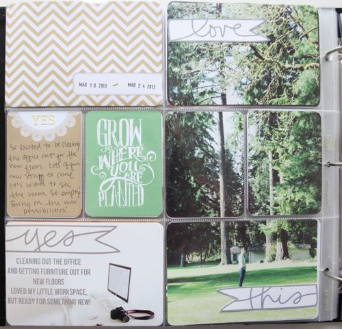 This is such a great idea and I love how the banners help unify the photo | Katie via Ali Edwards
