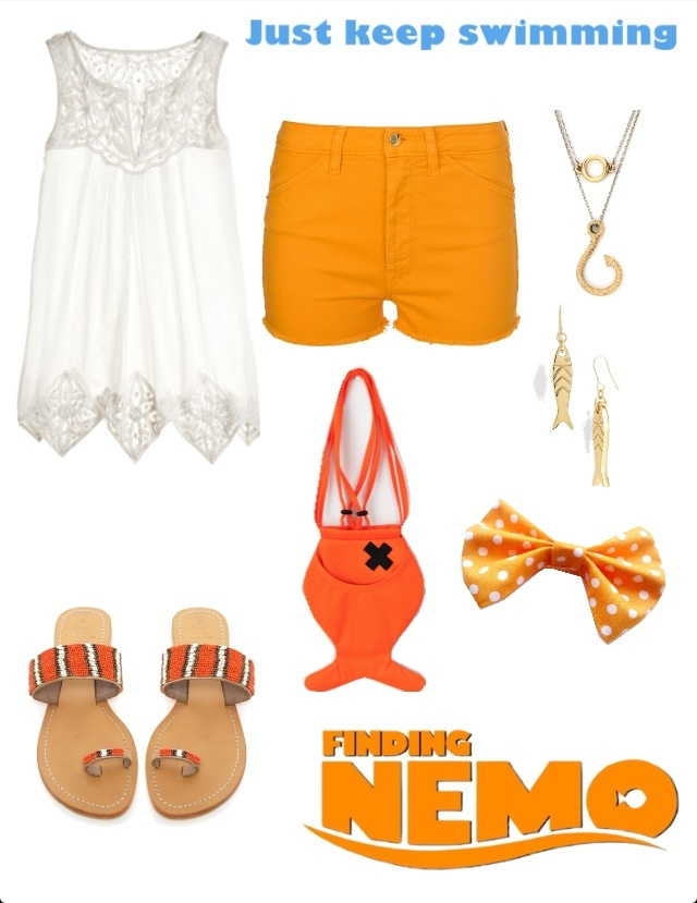 Finding Nemo Disney Inspired Outfit I want some of the clothes in this pic