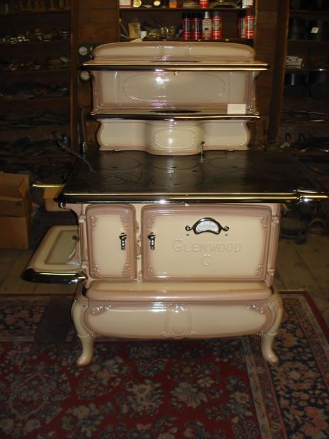 antique wood stoves | Glenwood C Kitchen Ranges 1880-1930 This Stove: $2900 - 91 Best Images About Keeping It Stoves On Pinterest Antiques