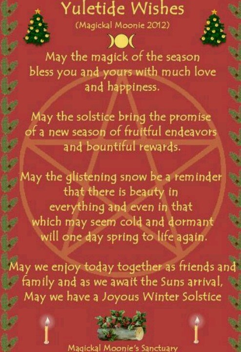 Ceremonial Yuletide Wishes                                                                                                                                                                                 More
