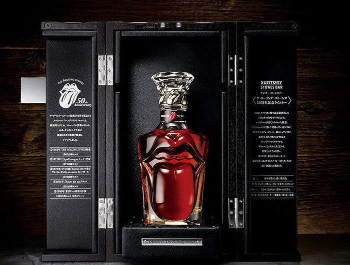 Rolling Stones 50th anniversary #whisky #rock #booze