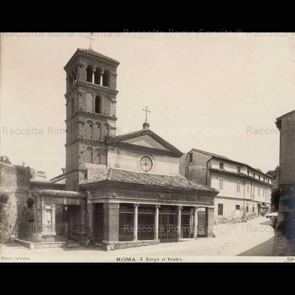 Chiesa San Giorgio al Velabro Anno: 1900