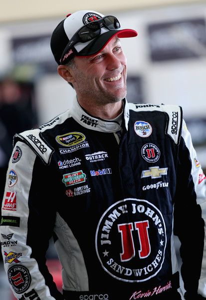 Kevin Harvick Photos Photos - Kevin Harvick, driver of the #4 Jimmy John's Chevrolet, stands in the garage during practice for the NASCAR Sprint Cup Series Pure Michigan 400 at Michigan International Speedway on August 27, 2016 in Brooklyn, Michigan. - Michigan International Speedway - Day 2