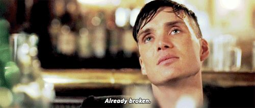 Pin for Later: Cillian Murphy Gives You 25 Sexy Reasons to Watch Peaky Blinders He's JUST SO WOUNDED INSIDE.