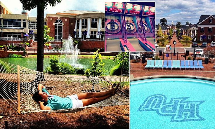 High Point University!  Is this the best university you've never heard of? Take a look at the  $700 million Disney-style campus.