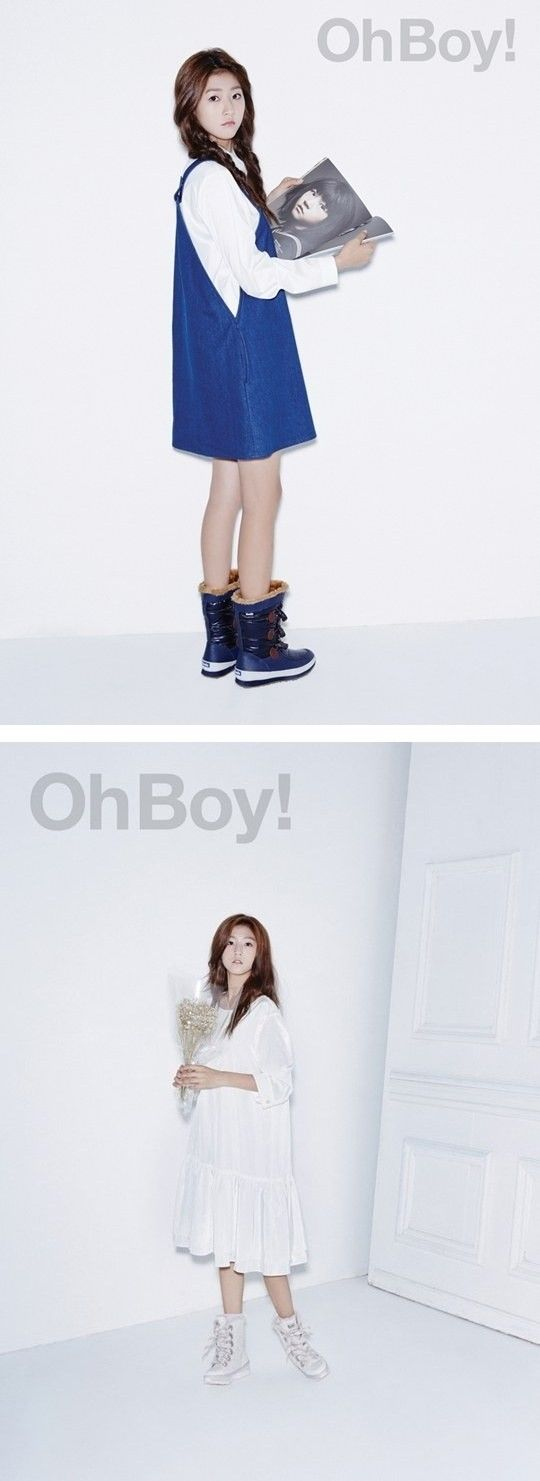 Kim Sae Ron is still a child at heart for 'Oh Boy!' pictorial