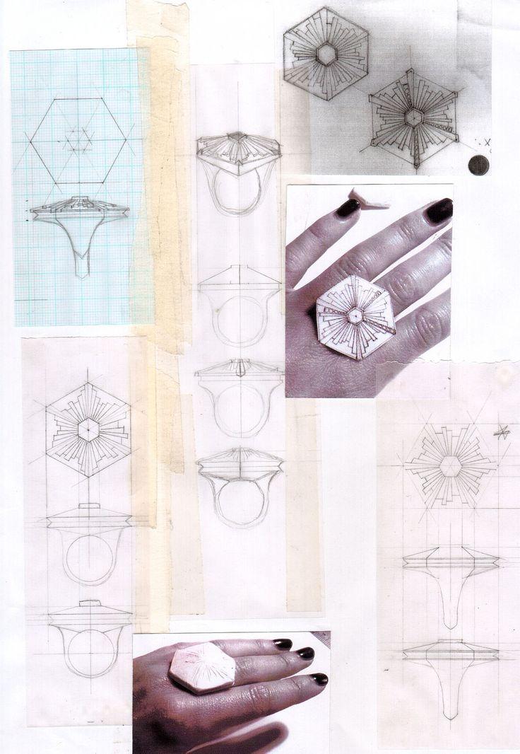 Delirium: Sketchbook Design Development.