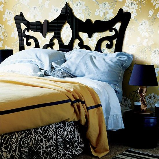 Contemporary floral bedroom | Bedroom furniture | Decorating ideas | Image | Housetohome