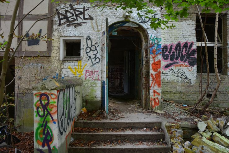Children's laughter still echoes through the walls of the abandoned Kinder Krankenhaus in Berlin. Get ready for some seriously creepy sights and awesome graffiti.