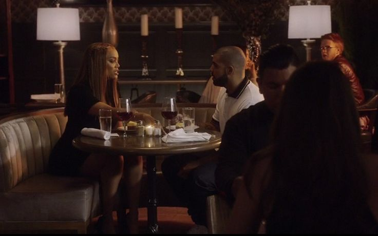 "Watch: Drake Argues With Tyra Banks at Cheesecake Factory in ""Child's Play"" Video #buzzvero #musicvideo"
