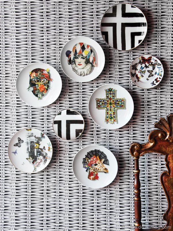 """Christian Lacroix's contemporary and haute couture designs are mixed and matched in the """"Love Who You Want"""" porcelain gift collection, a fun and creative collaboration with porcelain manufacturer Vista Alegre"""