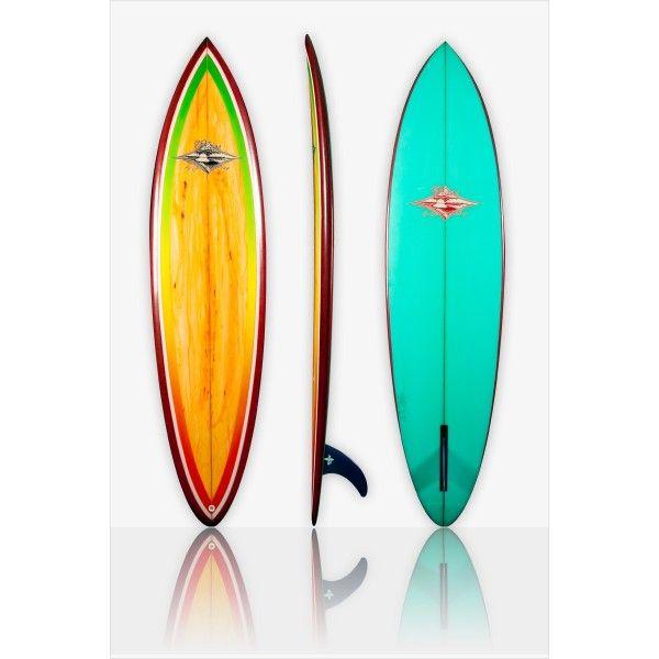 Single Fin Surfboard Almond | Home > Surfboards for Sale > Single Fins > 70s Single Fin Shooter