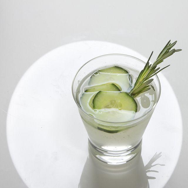 Drink your veggies: Cucumber-rosemary gin & tonic - Dinner Series ...