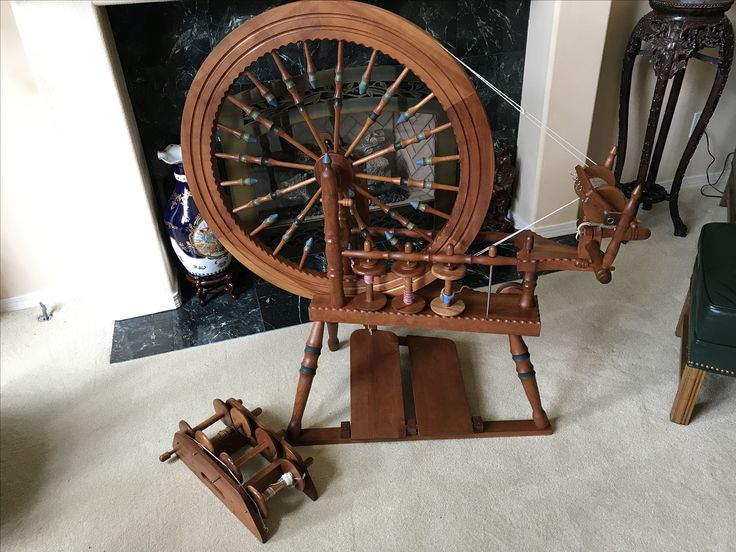 James Watson spinning wheel number 140, made in 2007.