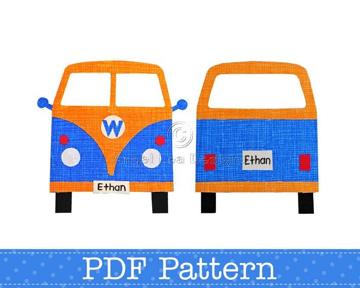 On Pinterest Volkswagen Applique Designs And Adult Coloring Pages