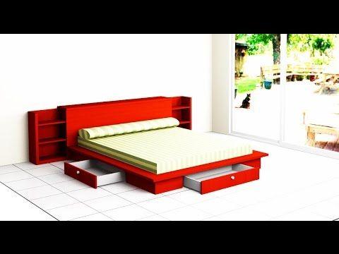 Haremos una cama con su cabecero estilo tatami para un - Cama estilo tatami ...