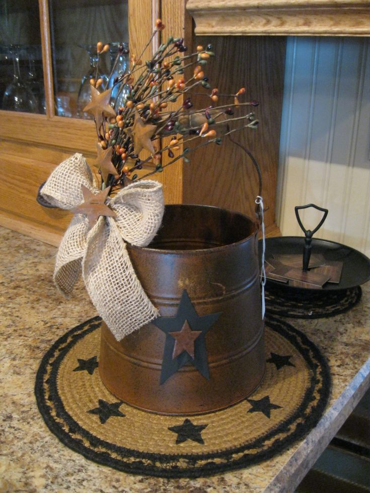 Primitive Country Craft Ideas