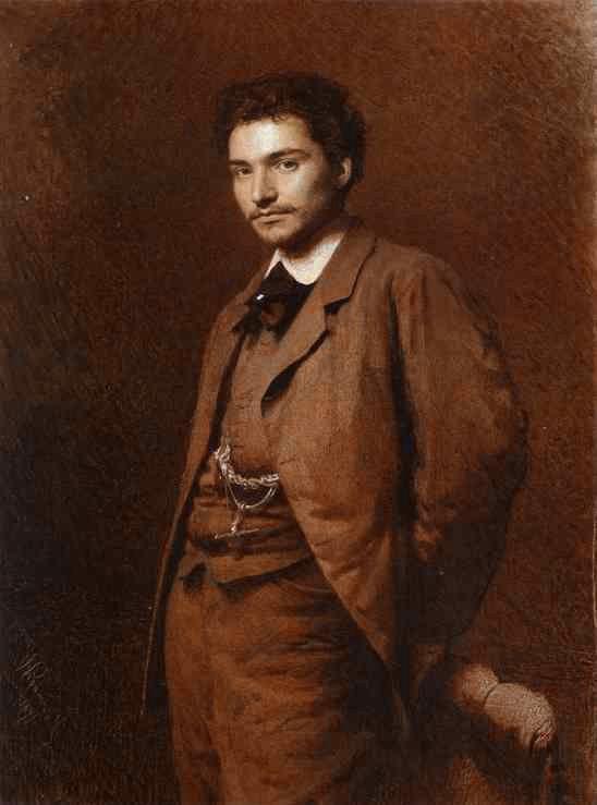 Ο καλλιτέχνης Feodor Vasilyev.(1871)