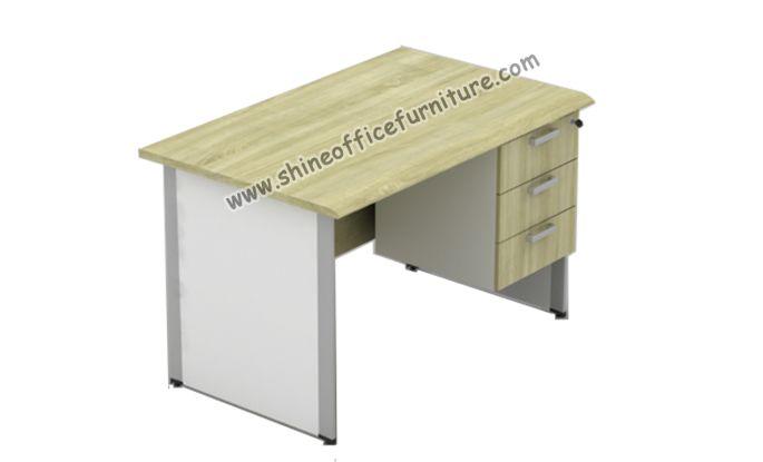Meja kantor Powell 1275T Include Fixed pedestal. uk.120x75x75cm