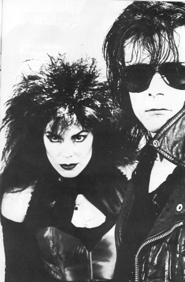 Sisters of Mercy... I mean, Patricia Morrison. Goth pin-up, punk pioneer, all around lustful badassedness. The only way she could be any more epic goth power vixen would be if she married David Vanian and had his baby. Oh wait...she did!!