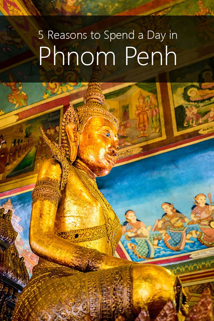 Phnom Penh Cambodia has so much to offer. Situated along the Mekong river, it is full of watts, palaces, and temples. It is also a great place to find amazing deals on food and drinks.