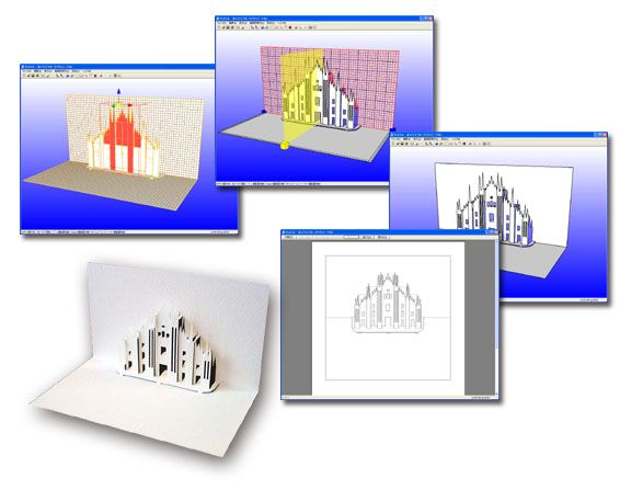 Designer Pop Up Pro is a useful program used to create pop up architecture. Used in senior school Design courses.