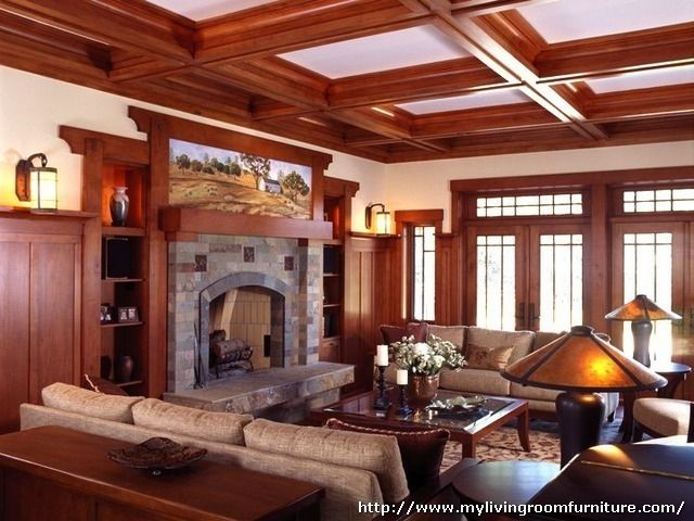 Craftsman Style Living Room Furniture Part 66