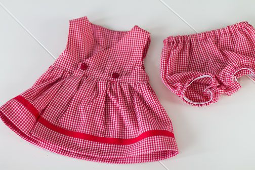 I can't find any reasonably priced, or even cute cabbage patch clothes for my daughter's baby, so I guess I'm gonna have to make some.