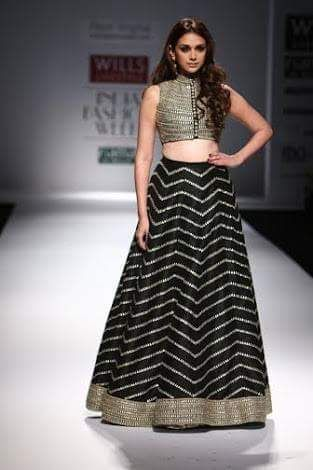 long skirt with crop top indian - Google Search