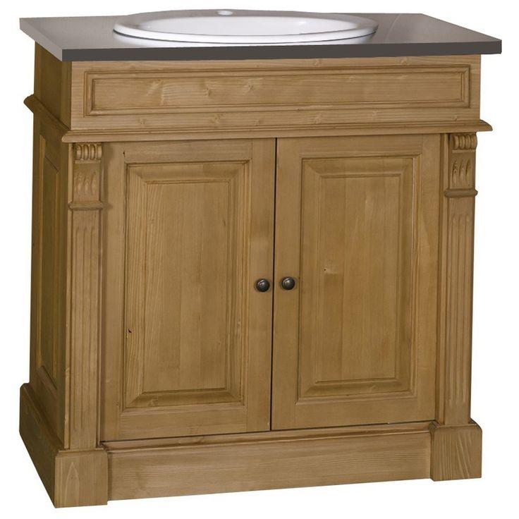 8 best meubles vasques de salle de bain images on pinterest solid pine bathroom furniture and. Black Bedroom Furniture Sets. Home Design Ideas