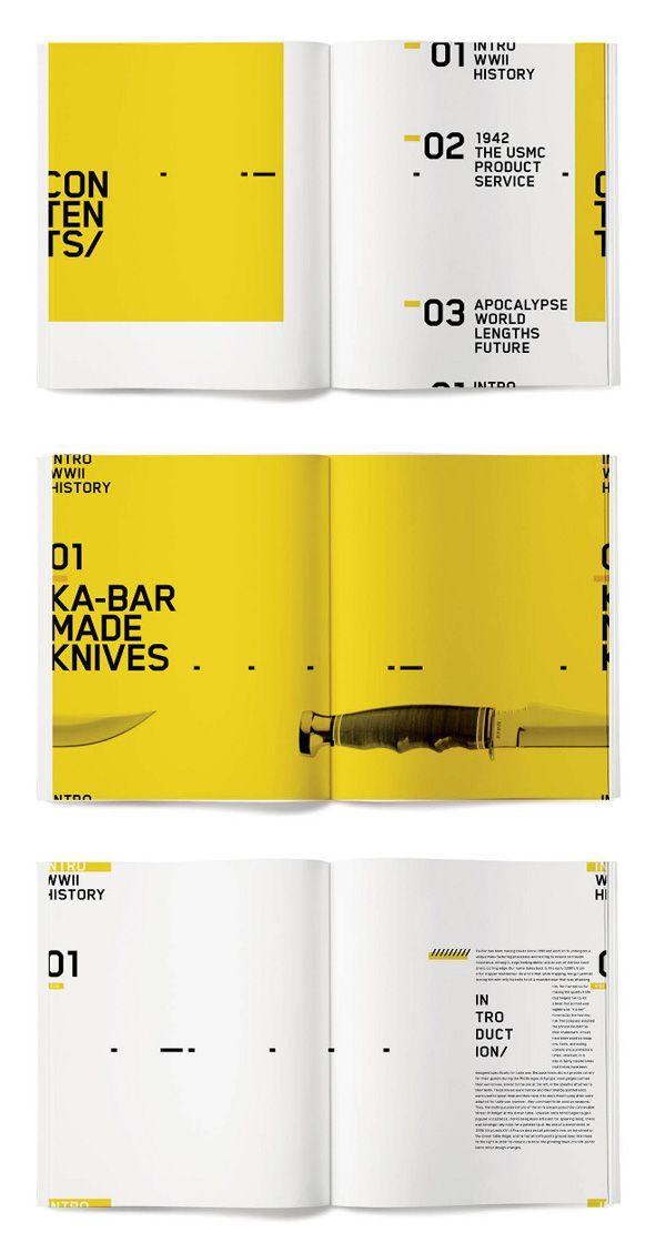 EDITORIAL DESIGN VON JESSICA GIBOIN – #Design #EDI…