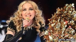 According to figures, Sunday's Super Bowl was the most watched TV show in US history Madonna has announced the dates for her latest world tour, which will start in Israel in May.   The 53-year-old will play two dates in the UK, while the tour will also visit South America and Australia, where she has not performed in 20 years.
