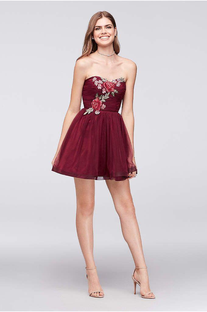 View Short Haute Nites Dress At Davids Bridal Homecoming Dresses