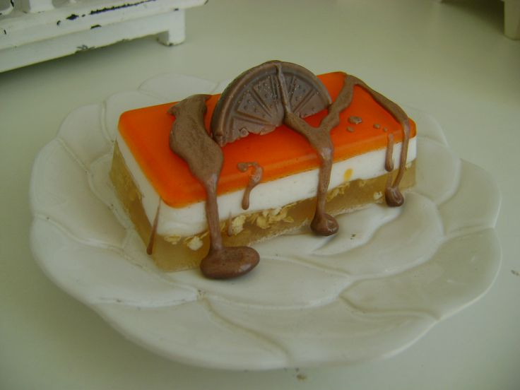 Creamy Jaffa bar
