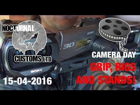 Film Making Advice: Basic camera grips, stands and rigs. -