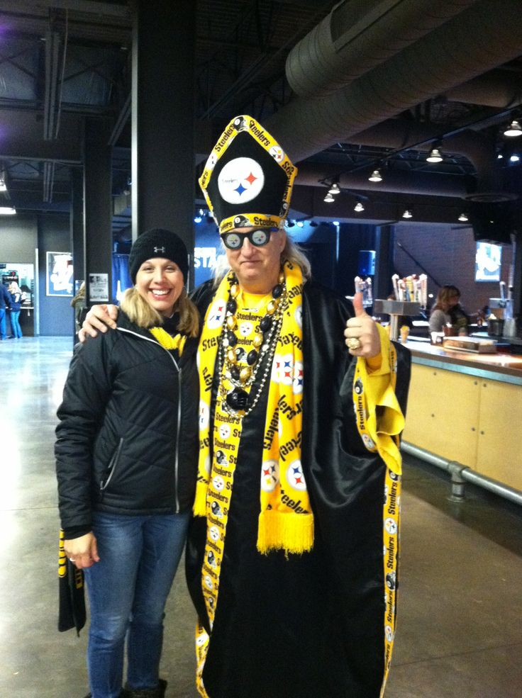 Pope Yinzer Pittsburgh Steelers Pinterest