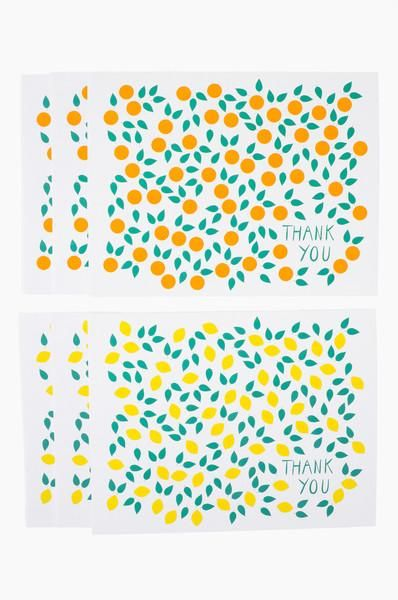 Bright and cheery citrus, perfect for any occasion to say thank you! www.mooreaseal.com