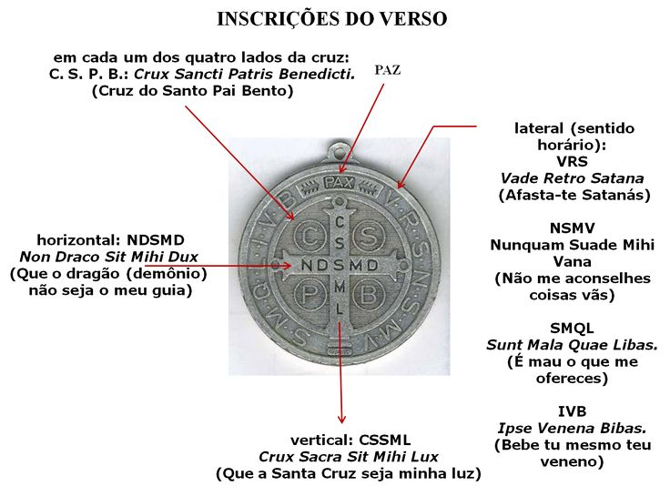 Resultado de imagem para medalha de sao bento significado
