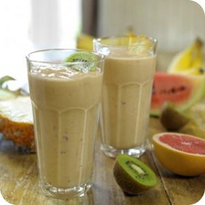 Tropical Pina Colada Smoothie