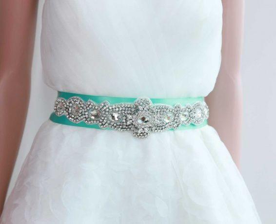 Outstanding Unique Wedding Dress Sashes Belts Composition - Womens ...