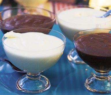 Vit+chokladmousse