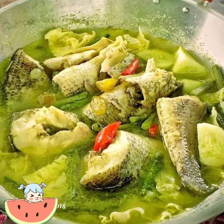 Garangan Asam Iwaj Haruan Sayur Asem Ikan Gabus Resep Ikan Resep Resep Masakan