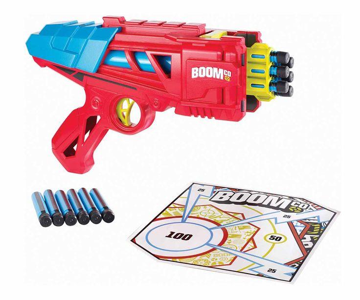 Con la Pistola de juguete BoomCo Dynamag tu hijo se divertirá construyendo una verdadera batalla, esta pistola esta equipada para que tu hijo fomente la audacia e innovación.