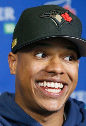 Marcus Stroman, awesome smile!