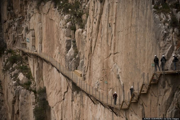 Thrill-seekers who really want to walk on the wild side need to head to southern Spain ASAP. There, in the village of El Chorro, they will find Caminito del Rey, aka the world's most dangerous walkway.