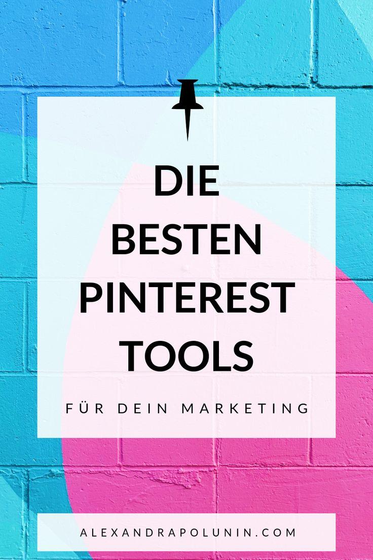 6 Pinterest-Tools, die du wirklich (!) brauchst — Alexandra Polunin
