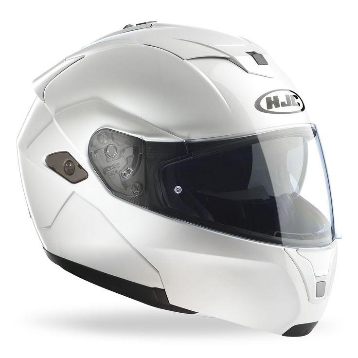 Casco apribile bianco HJC SY-MAX III Metal / PEARL WHITE RYAN