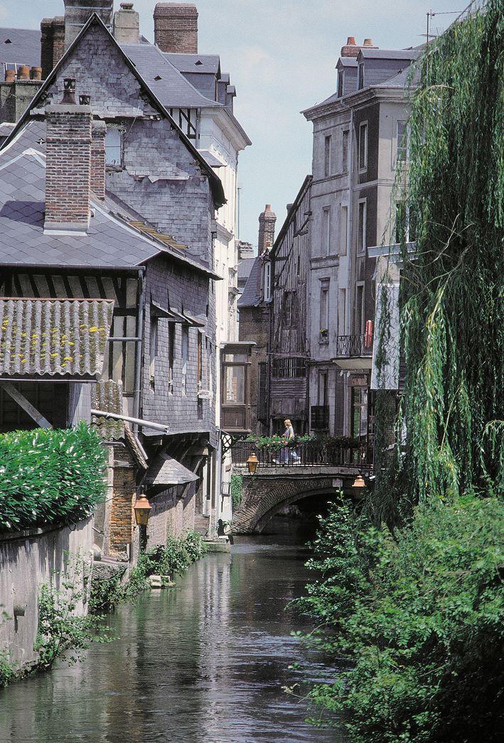 Pont Audemer, Eure, Haute Normandie, France