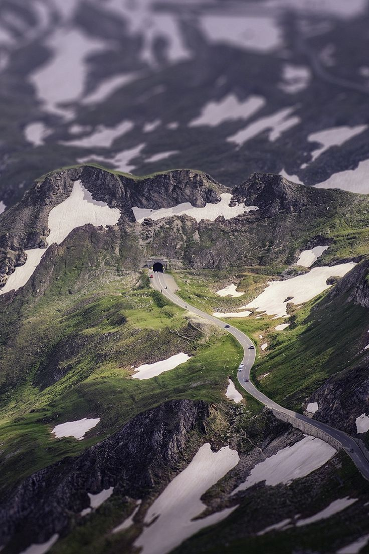 Grossglockner High Alpine Road, mountain pass in Austria Beautiful Pictures